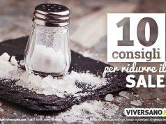 10 consigli per usare meno sale nella dieta