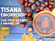 Ricetta tisana contro le emorroidi con ippocastano e amamelide