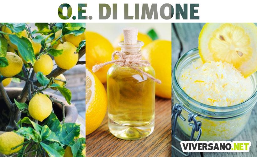 Olio essenziale di limone: proprietà e usi