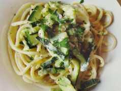 ricetta spaghetti alla carbonara di zucchine