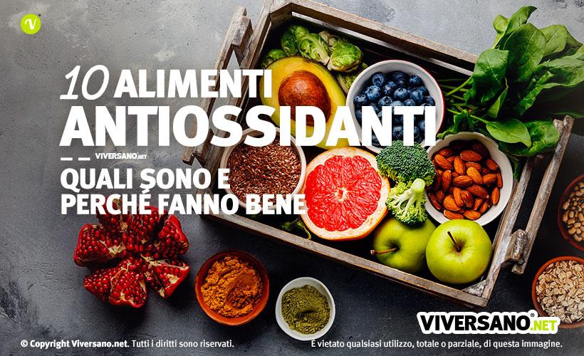 Copertina dell'articolo - 10 alimenti antiossidanti
