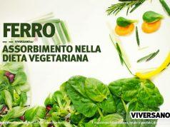 Copertina dell'articolo chiamato assorbimento del ferro nella dieta vegetariana