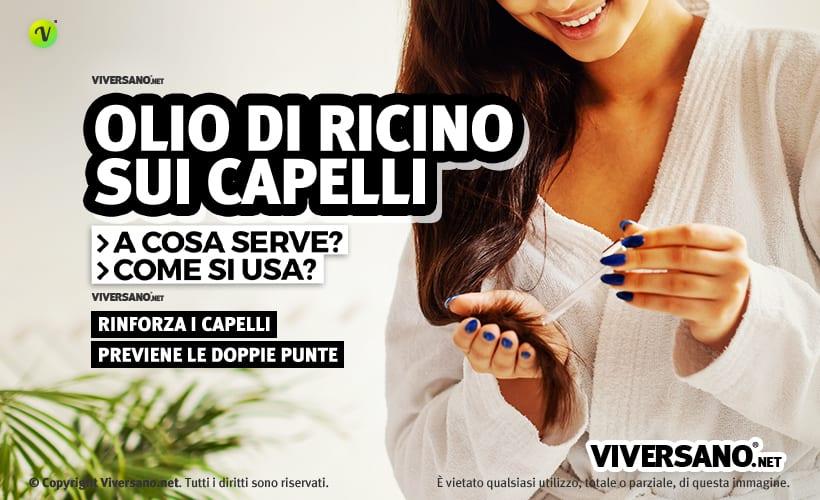 olio di ricino per i capelli