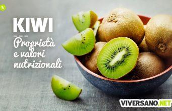 Kiwi: proprietà, benefici, calorie e controindicazioni