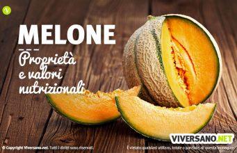 Melone: proprietà, benefici, calorie e controindicazioni