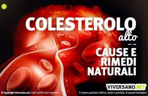 Colesterolo alto: cause e rimedi naturali