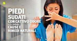 Copertina dell'articolo - Rimedi naturali per piedi sudati e cattivi odori