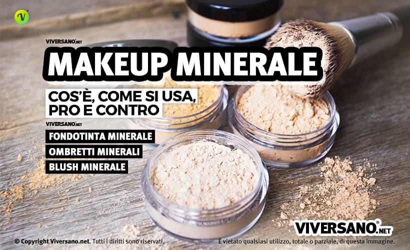 cosmetici minerali