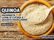 Chicchi di quinoa in una ciotola