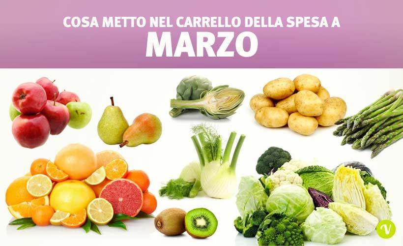Mangiare di stagione a marzo quale frutta e verdura offre - Immagine di frutta e verdura ...