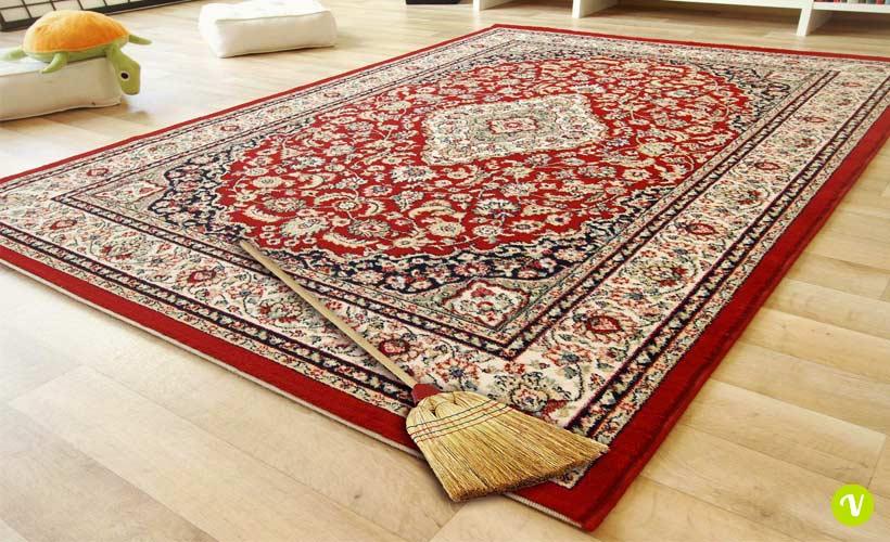 Pulire i tappeti con metodi naturali