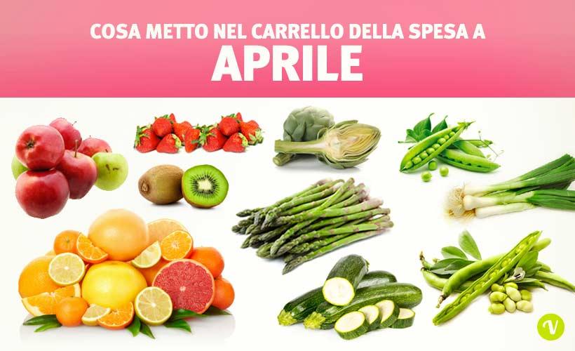 Mangiare di stagione ad Aprile