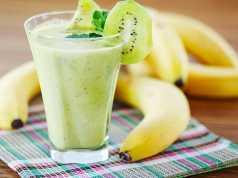 Ricetta per frullato di banana kiwi e lattuga