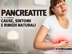 Donna con dolore tipico della pancreatite