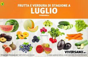 Copertina dell'articolo - Alimenti di stagione a luglio