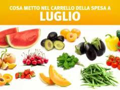 Alimenti stagionali: cosa mangiare a Luglio