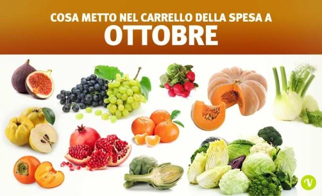 Mangiare di stagione a ottobre