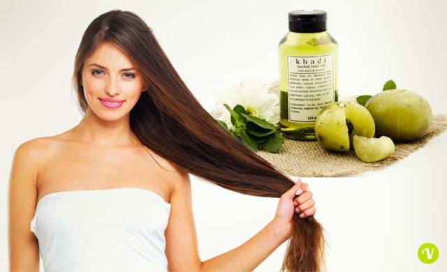 Olio di amla per capelli