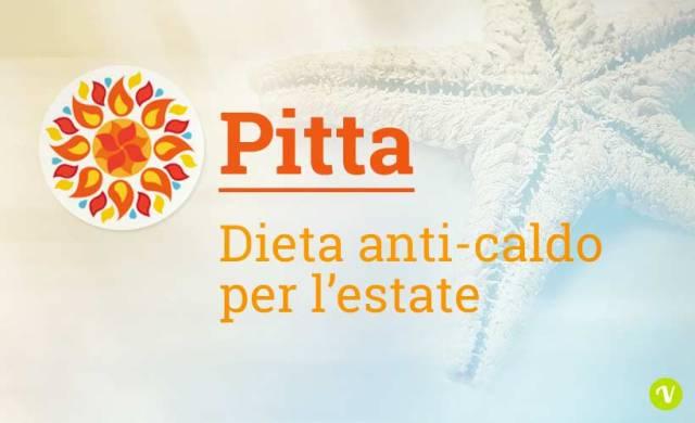 Dieta anti pitta estate