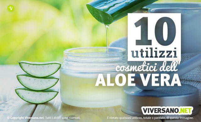 Gel di aloe vera: 10 utilizzi per la cura del corpo