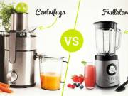 Differenze tra centrifuga e frullatore