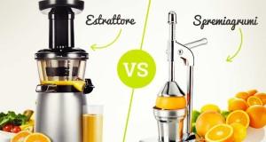 Differenze tra estrattore di succo e spremiagrumi