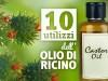 10 utilizzi dell olio di ricino