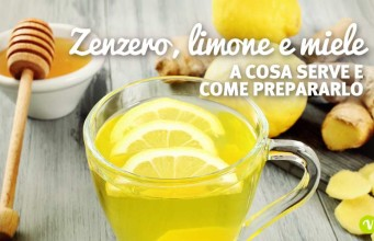 Miele zenzero e limone
