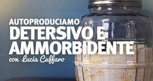 Autoproduzione con Lucia Cuffaro: detergente per bucato