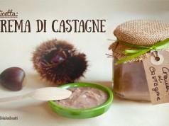 Crema di castagne e vaniglia vegan