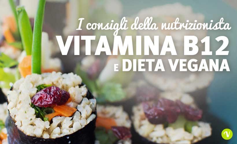 Vitamina B12 e dieta vegana