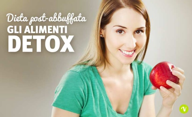 Alimenti detox post abbuffata