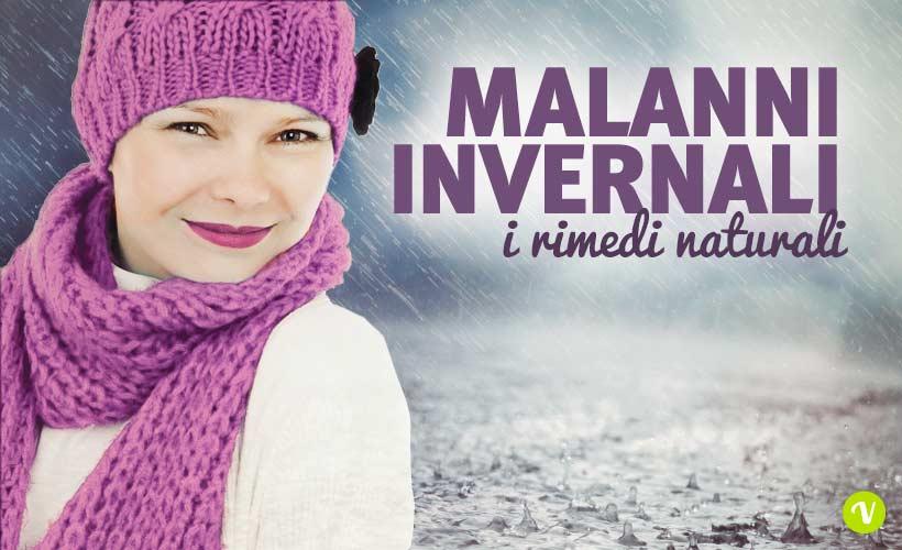 Consigli e rimedi naturali per i più comuni malanni invernali