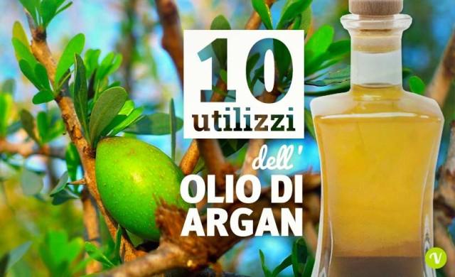 10 utilizzi dell'olio di Argan per viso e corpo