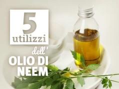 5 utilizzi dell'olio di neem per la cura della pelle e dei capelli