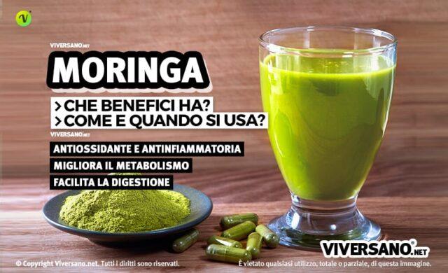 Moringa Oleifera: proprietà e controindicazioni