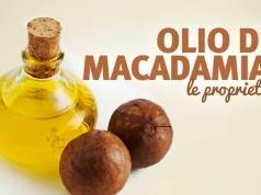 Olio di macadamia per pelle e capelli