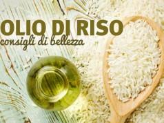 L'Olio di riso è ideale per il contorno occhi e molto utile per le pelli irritate