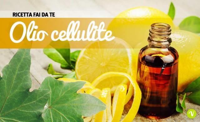 Come preparare un olio anti cellulite, contro il ristagno dei liquidi