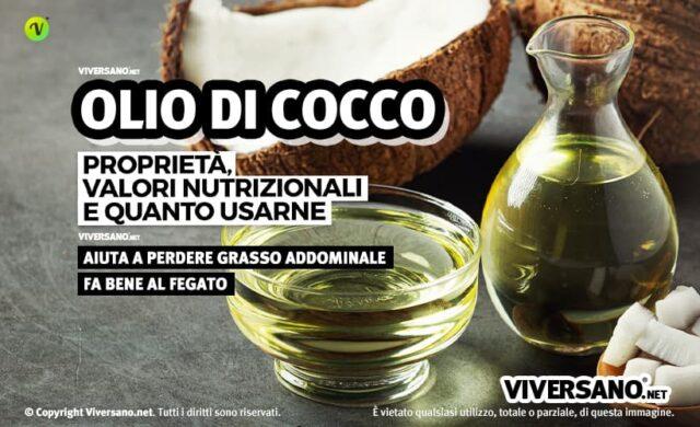 Olio di cocco ad uso alimentare: proprietà e benefici