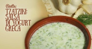 Ricetta per preparare la salsa yogurt greca Tzatziki