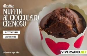 Ricetta dei muffin al cioccolato in versione vegan e gluten free