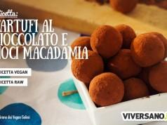 Ricetta per preparare tartufi al cioccolato crudisti