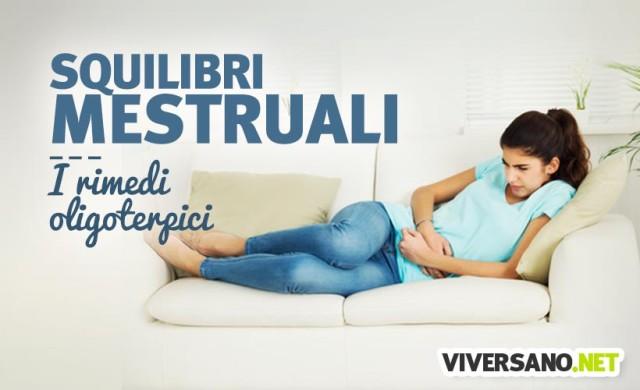 I rimedi dell'oligoterapia contro i disturbi mestruali