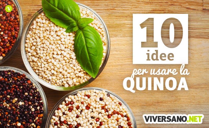10 ricette con quinoa e farina di quinoa