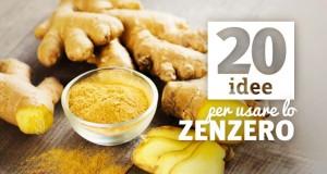 20 modi per usare lo zenzero