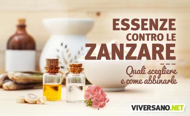 Oli essenziali utili contro le zanzare