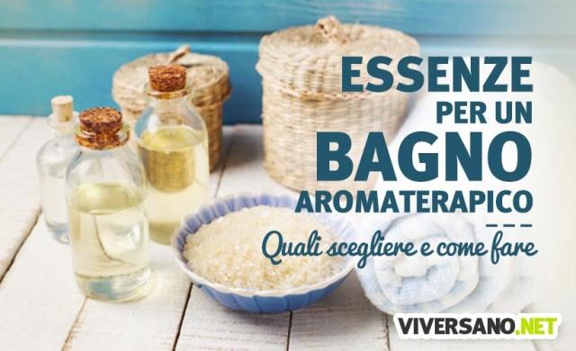I migliori oli essenziali per un bagno aromaterapico
