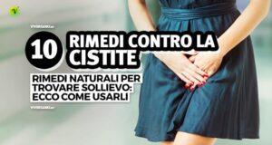 10 rimedi naturali contro la cistite