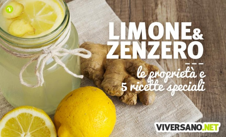 Zenzero e Limone: 5 ricette e le proprietà